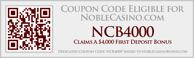 Noble Casino Coupon NCB4000